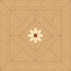 Back Oak, Maple - Padouk inlay