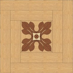 Back Oak, Mahogany - Maple inlay